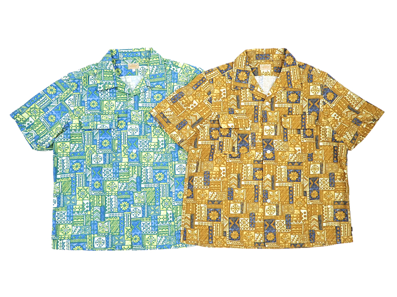 【GO WEST】OUT OF BORDER SHIRTS / 70's PRINT FABRIC