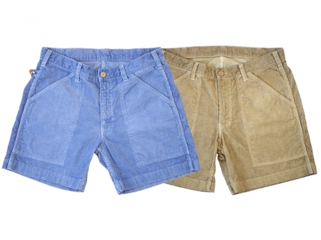 SUNLIGHT BELIEVER 70's CORDUROY SHORTS