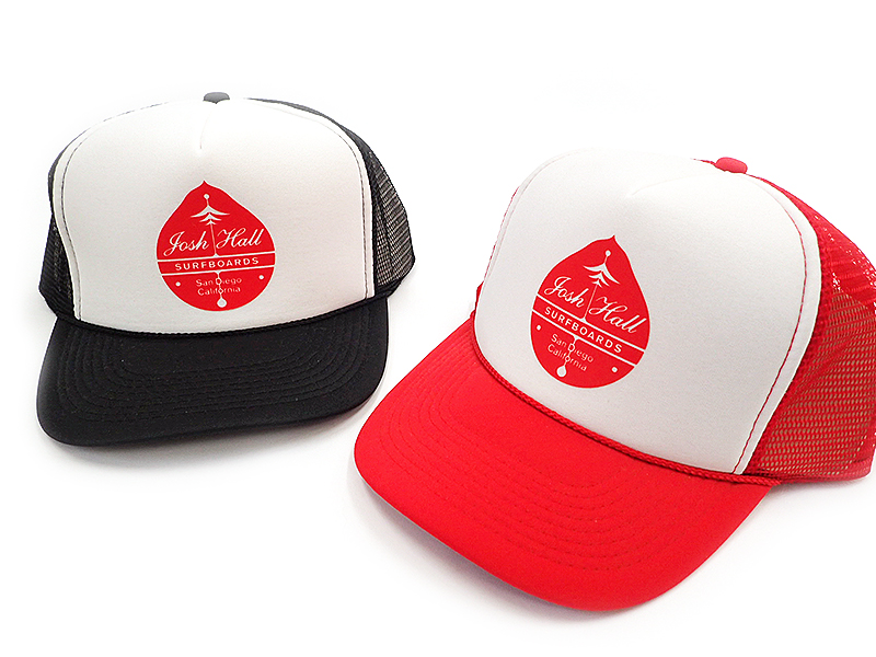 Josh Hall Ornament Logo Mesh Cap