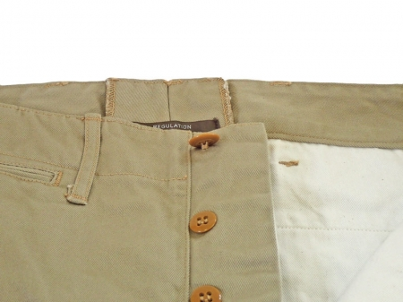 Workers Officer Trousers Slim Type1 Chino