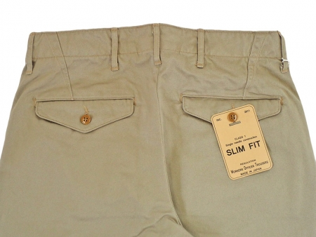 【WORKERS】Officer Trousers Slim Type1 Chino