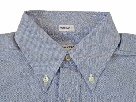 【WORKERS】Modified BD Shirts 6.5oz D-OX