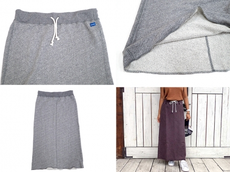 【Good on】Ladies Sweat Maxi Skirt