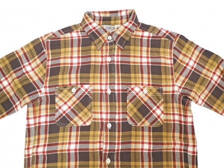 【FIVE BROTHER】HEAVY FLANNEL WORK SHIRTS