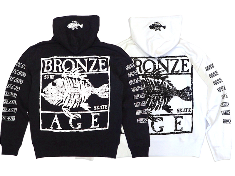 【BRONZE AGE】HOOD SWEAT