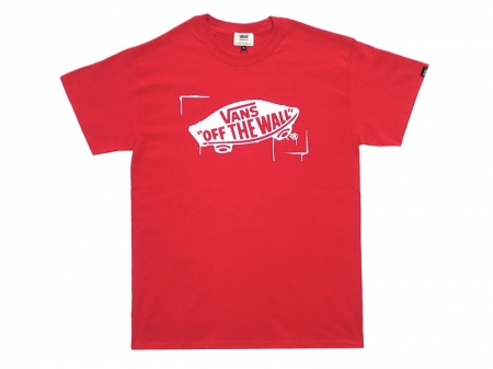 "VANS Stencil  Logo S/S Tee""OFF THE WALL"""