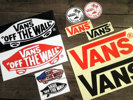 Vans Deck Logo Sticker Small