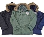 Valley Apparel N-3B Nylon Parka