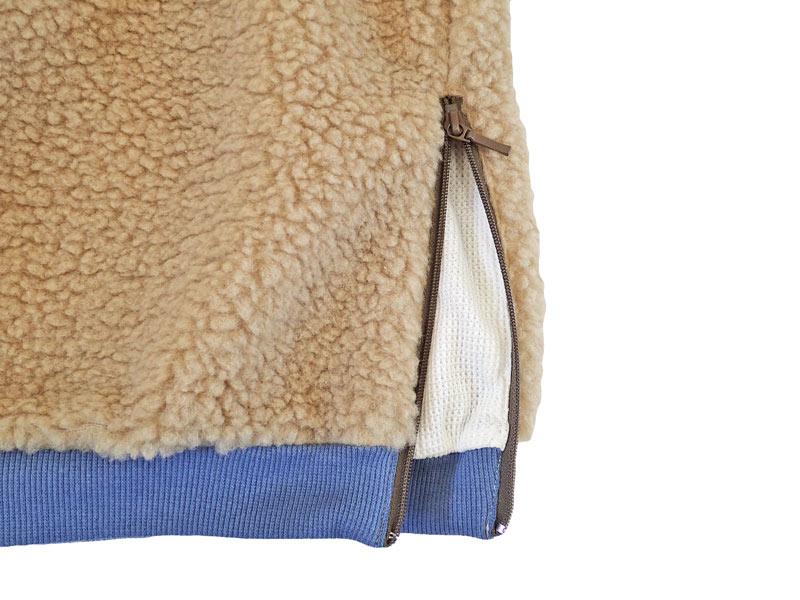 RIDING HIGH Boa Fleece Reversible Crew