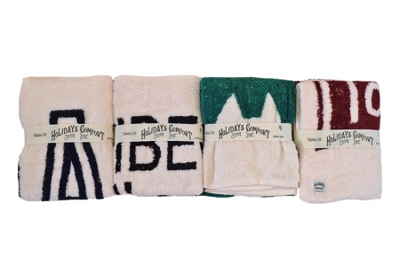 "RIDING HIGH ""HOLIDAYS COMFORT"" Graphic Towels"