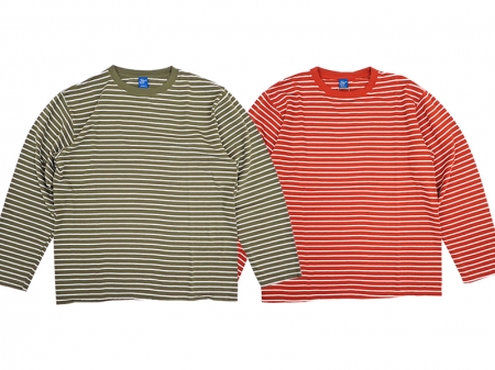 【Good On】L/S BORDER TEE