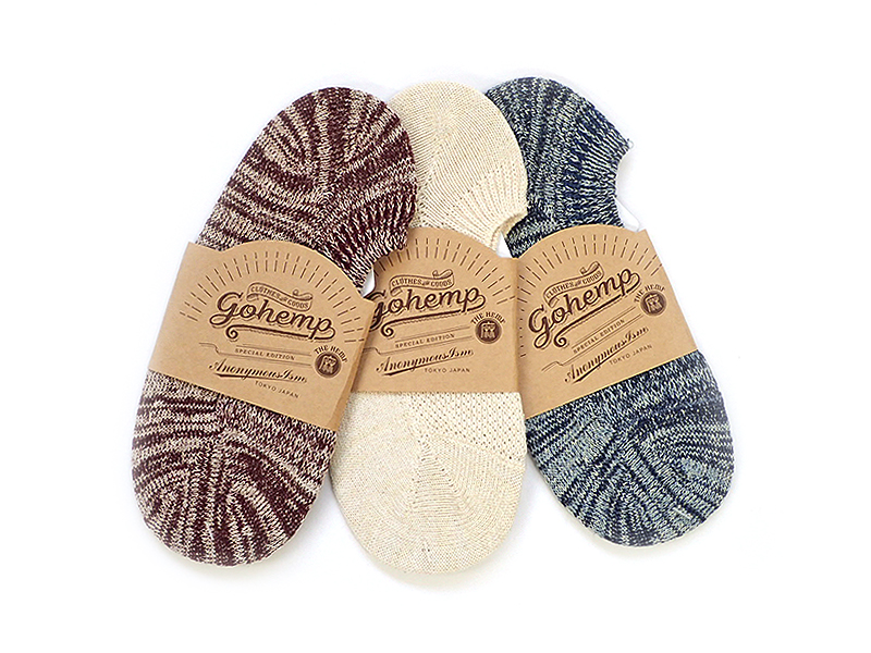 【GO HEMP】NEP SHOES IN SOCKS