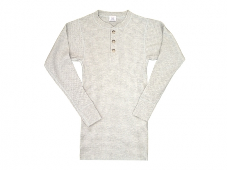 JE MORGAN L/S Henry Thermal T-Shirts