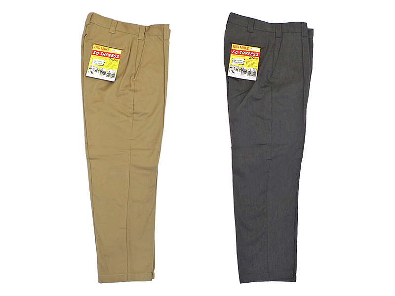 【BIG MIKE】PIN TACK CHINO PANTS
