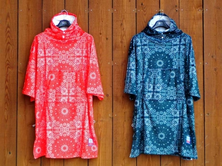 【FRUITION】 Micro Fiber Poncho