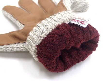 【NEWBERRY KNITTING】RAGWOOL GLOVE
