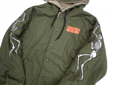 【GO HEMP】COACH PARKA