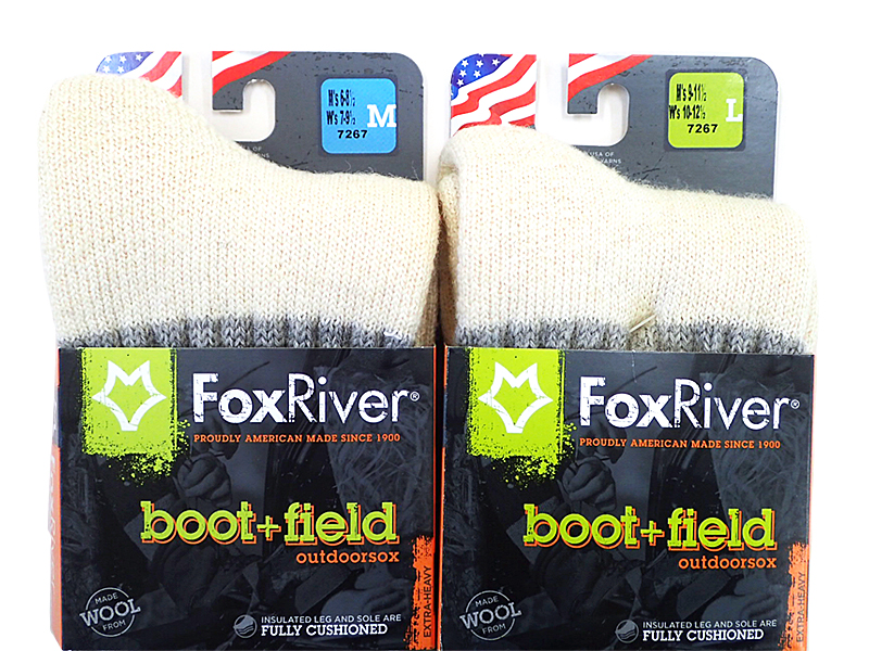 【Fox River】 Outdoorsox